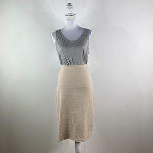 Charlotte Russe Womens Pencil Skirt Nude 2X